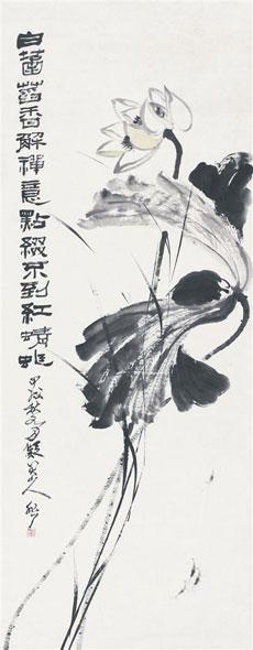 白菡萏香解禅意 点缀不到红蜻蜓