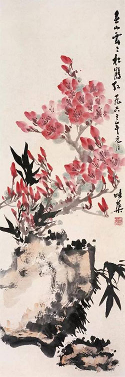 春山霭霭杜鹃红